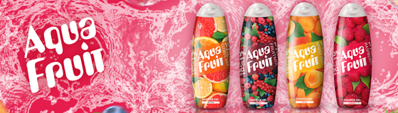 Гели для душа «Aquafruit»