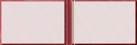 Твердая обложка «Диплом кандидата наук» (с гербом РФ, красная) (Арт:ДКН-24)
