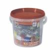 Мел цветной для рисования на асфальте НАБОР 16 шт. KOH-I-NOOR, квадратный, пластиковое ведро