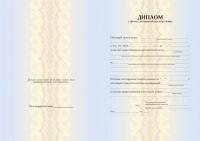 Бланк диплома о профессиональной переподготовке на право ведения нового вида (Арт. БД-3)
