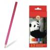"""Карандаши цветные KOH-I-NOOR """"Animals"""", 12 цветов, грифель 2,8 мм, заточенные, 3552/12"""