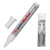 Маркер-краска лаковый (paint marker) KOH-I-NOOR, 1-5 мм, БЕЛЫЙ, скошенный наконечник, 7733050001PS
