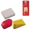 Набор ластиков KOH-I-NOOR 3 шт., цвет и форма ассорти