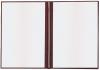 Твердая обложка для СВИДЕТЕЛЬСТВА, бордовая, А5 (Арт: С-57)