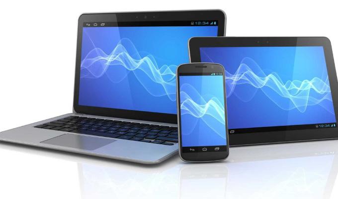 Возможность учиться с планшета, смартфона